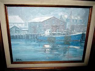 Painting by Rockport Artist John Nesta