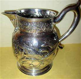 18th C. English Silver Pitcher Cook & Gurney