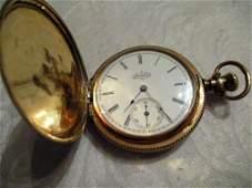 Ladys Gold Filled Elgin Pocket Watch