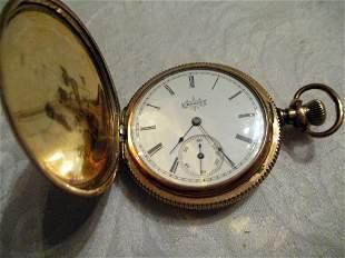 Lady's Gold Filled Elgin Pocket Watch