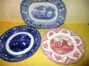 Three English Transfer Plates