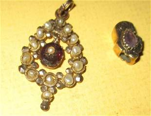 Two Pieces of Victorian Jewelry