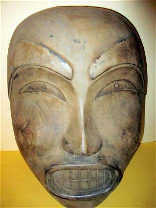 Northwest Indian Carved Wood Mask