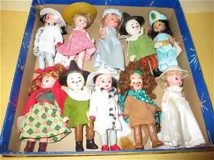 Box Lot of Madame Alexander Dolls