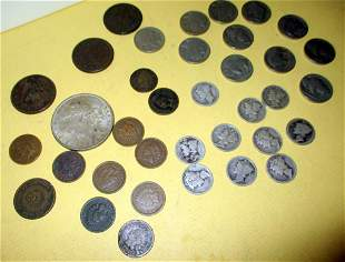 Misc. Lot of American Coins