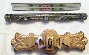Victorian Bar Pins