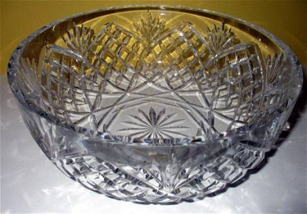 Signed Waterford Fruit Bowl