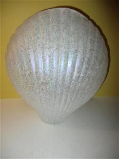 Italian Art Glass Vase by Silvestri