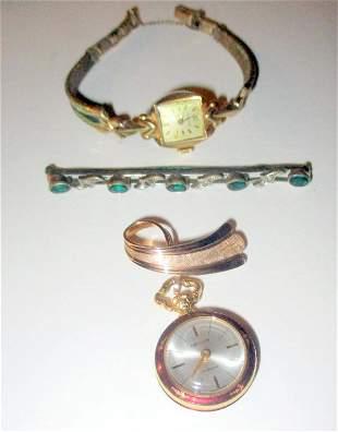 Three Piece Lot of Vintage Jewelry