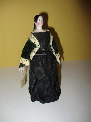 Late 18th C./ Early 19th C. Miniature Doll