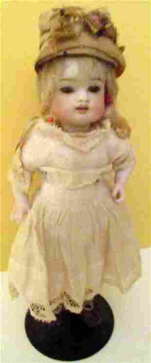 Small Bisque Porcelain Doll
