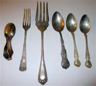 Misc. Lot of Sterling