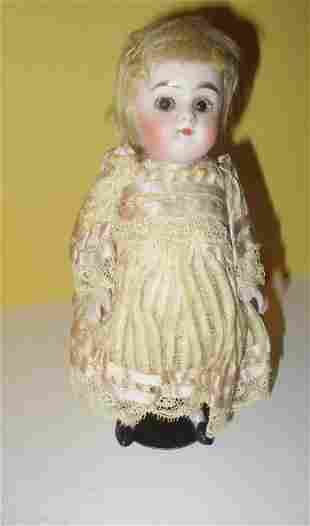 Small Bisque 19th Century Doll