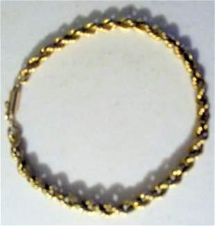 14K Gold Wrist Chain
