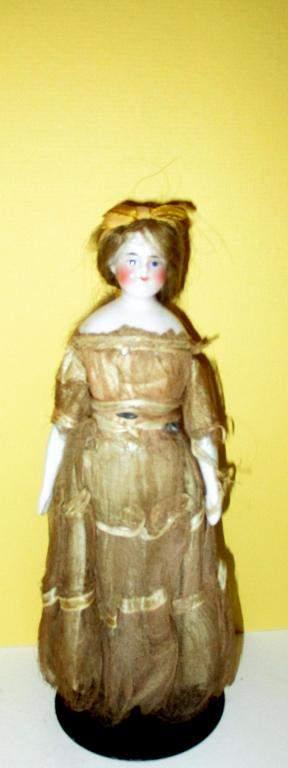 19th C. Porcelain Doll