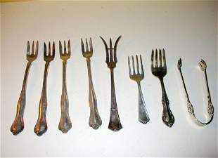 Miscellaneous Lot of Sterling Silver Forks