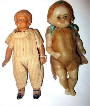 Two Vintage Dolls