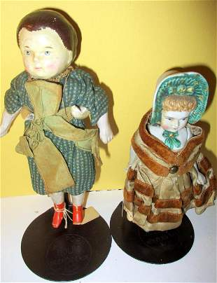 Lot of Two Vintage Dolls