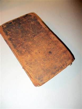 Antique Book of Selected Fables of Esop 1811