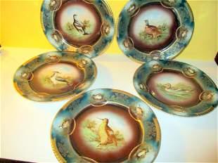 Lot of Five Royal Vienna Plates