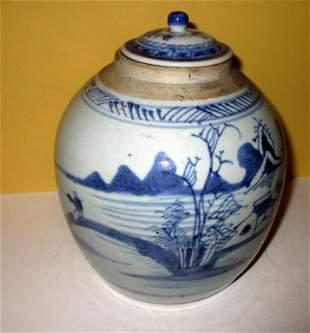 19th C. Canton Ginger Jar