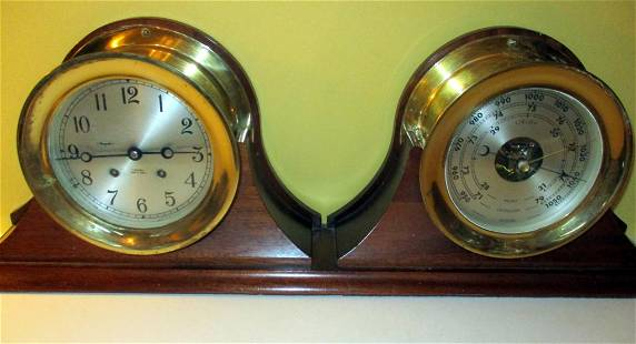 Chelsea Ship's Clock & Barometer