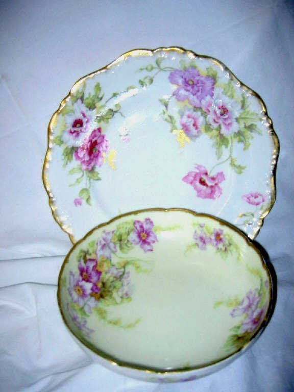 Hand Painted Limoges Lot