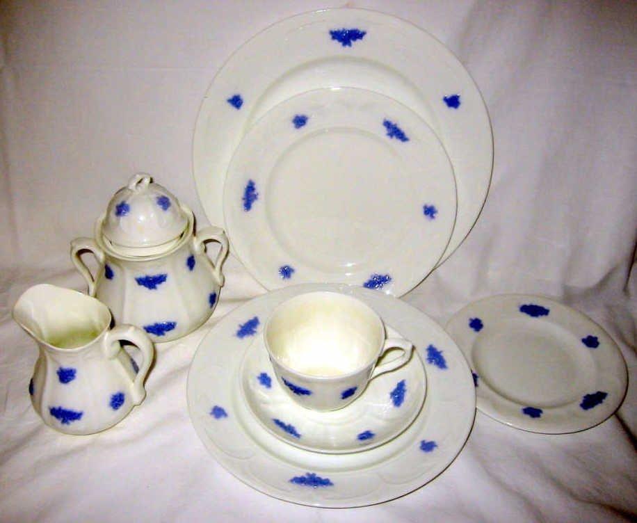 Set of Adderly English Dinnerware