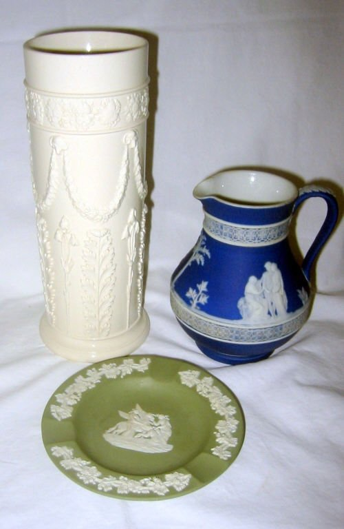 Three Piece Lot of Wedgewood Porcelain