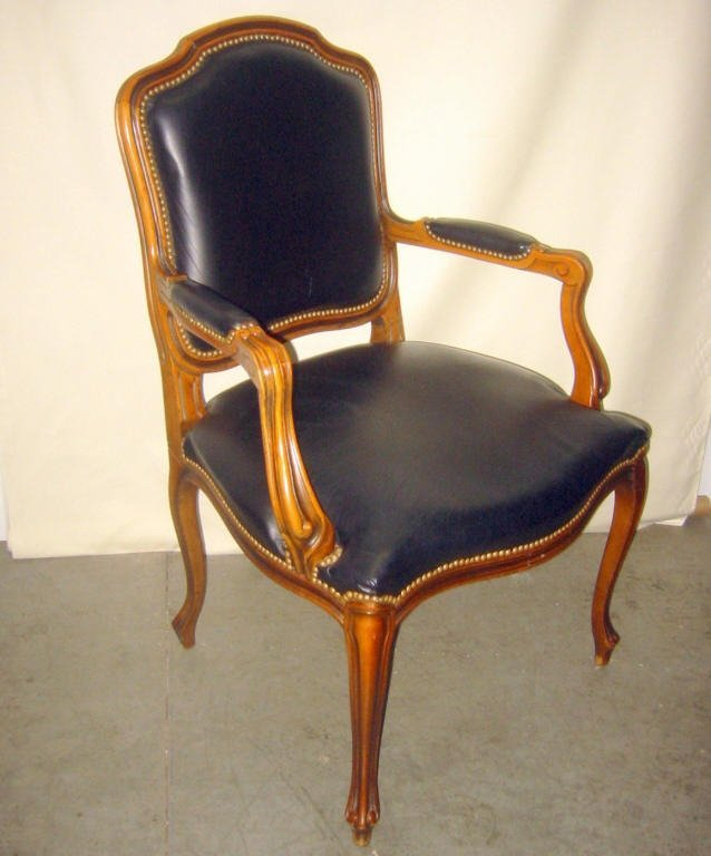 French Louis XV Style Arm Chair
