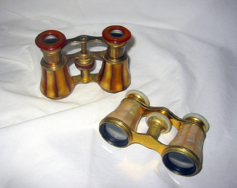 Two Pairs of French Opera Glasses