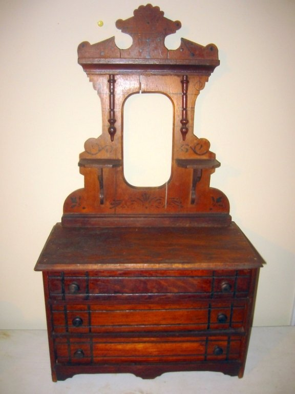 Miniature Victorian Dresser