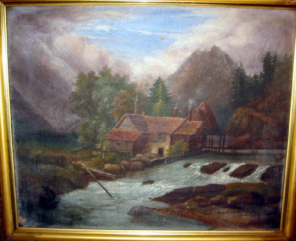 Victorian Landscape Painting