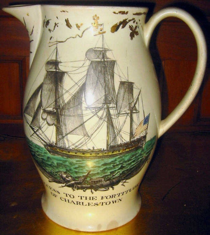 English Cream Ware Jug