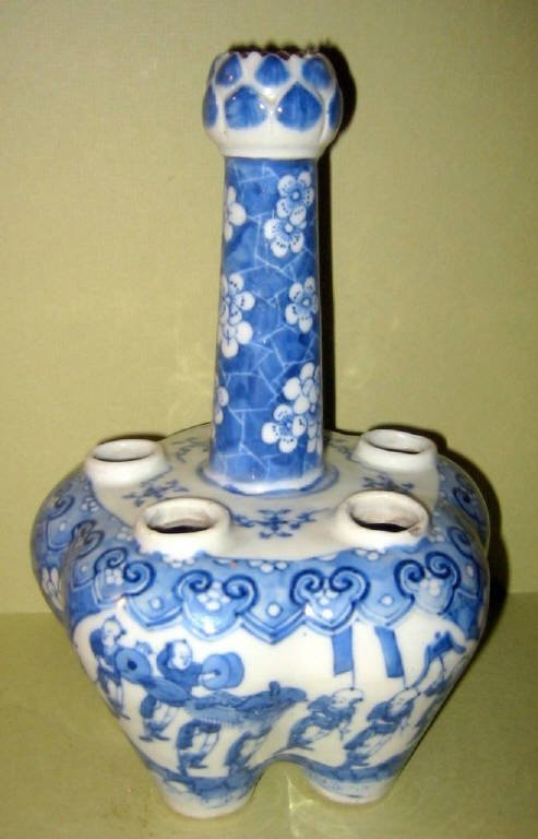 Chinese Blue and White Porcelain Tulip Vase