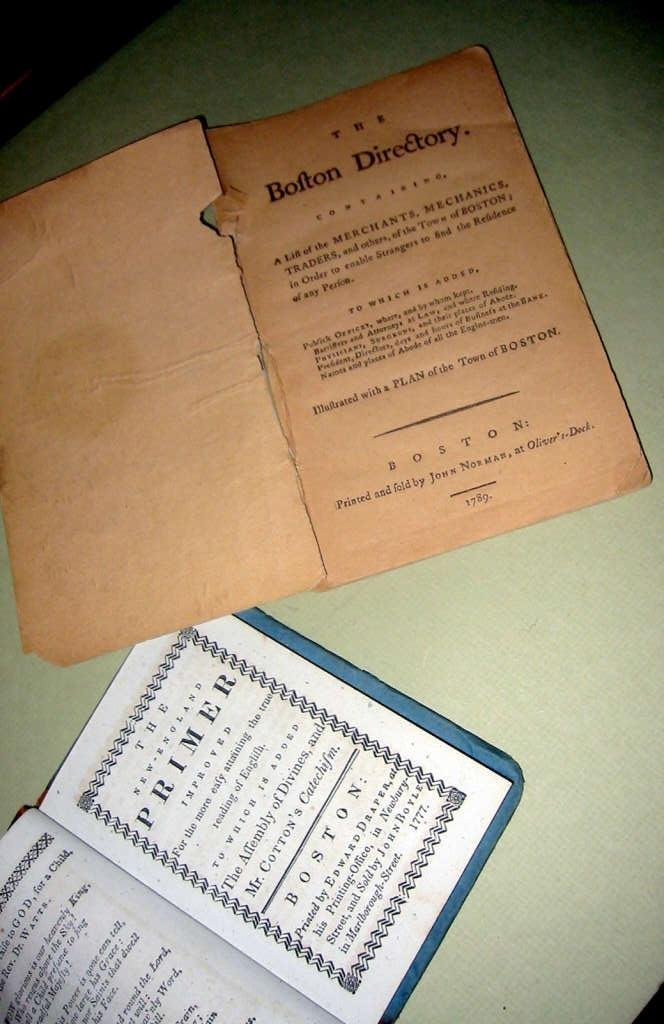 Two Early American Pamphlets