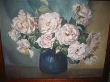 Oil Painting on Board by M BennettBrown