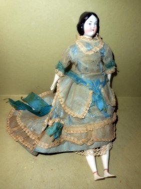 19th Century Porcelain Doll