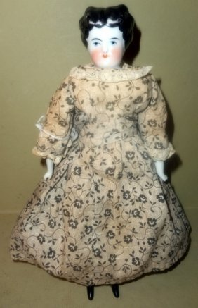 Queen Mary Porcelain Doll