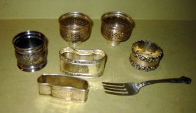 Miscellaneous Lot Of Sterling And Plate Items