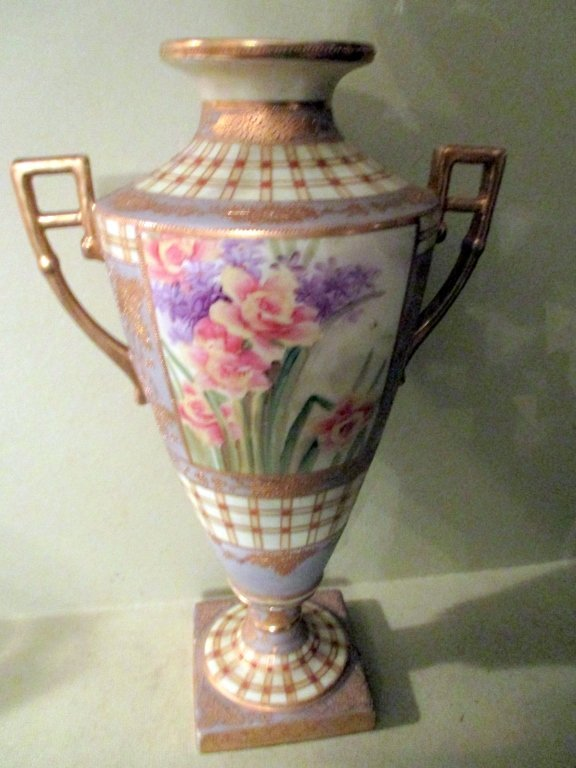 Beautiful Hand Painted Nippon Urn (As Is)