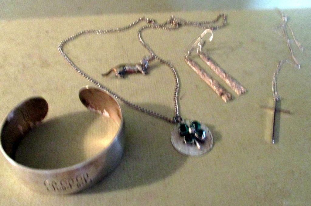 Five Piece Lot of Sterling Silver Jewelry