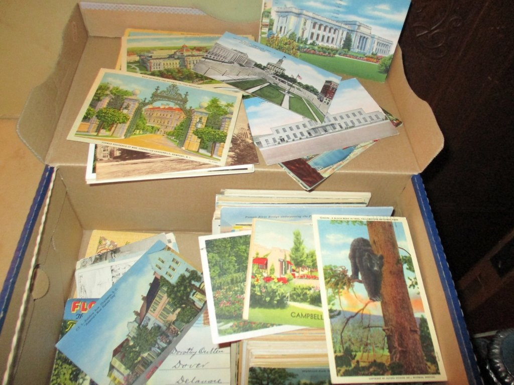 Shoe Box Full of Post Cards