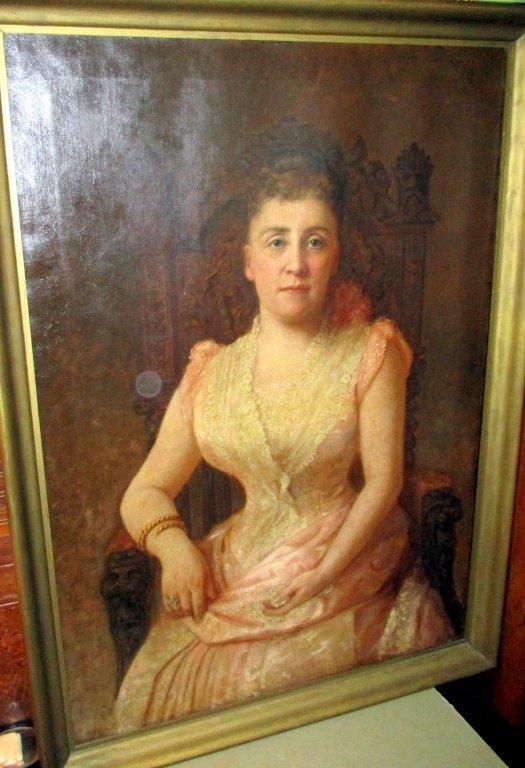 Portrait Painting of Jessie Kitteridge Humason
