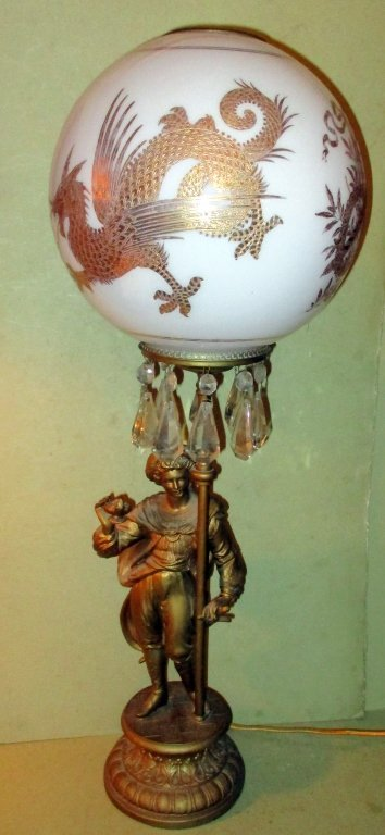 Victorian Aladdin Lamp