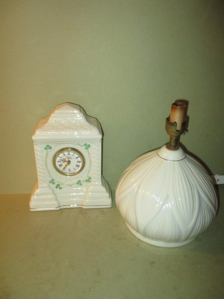Two Piece Belleek Lot