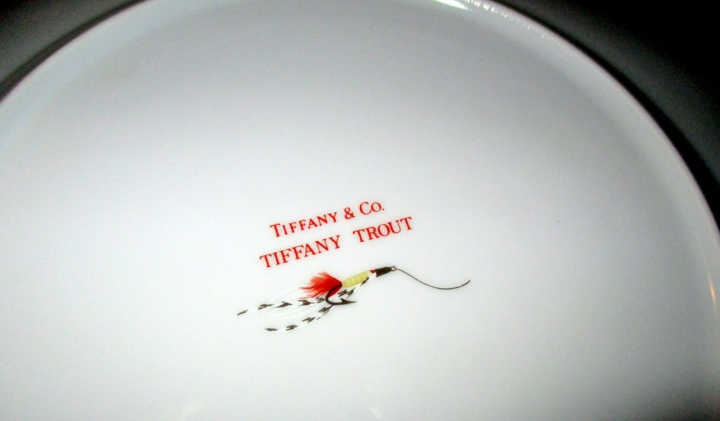 Four Tiffany & Co. Trout Plates - 2