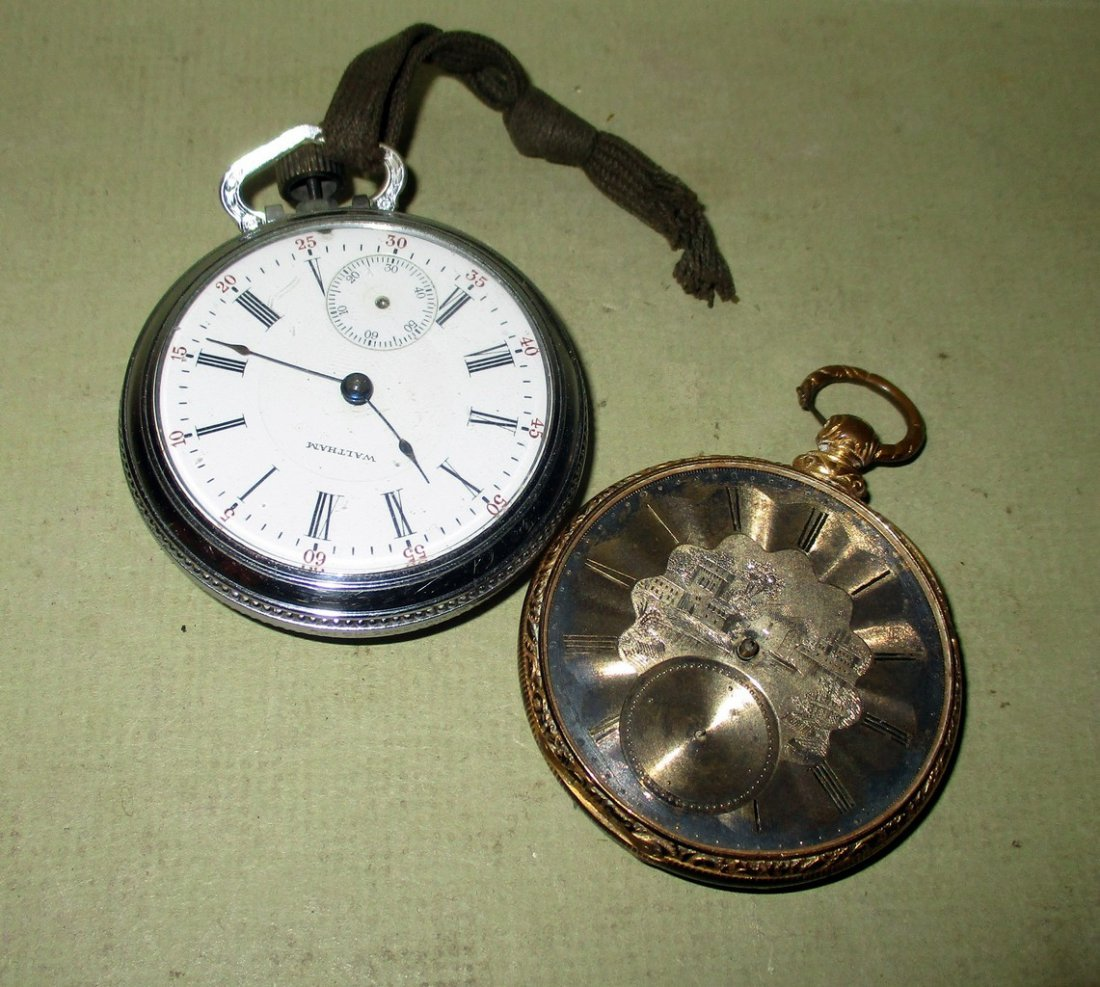 Two old Pocket watches
