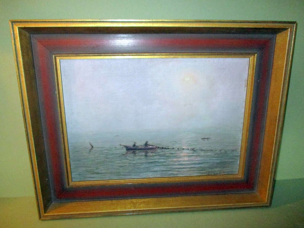 Oil Painting by N.S. Bowdish