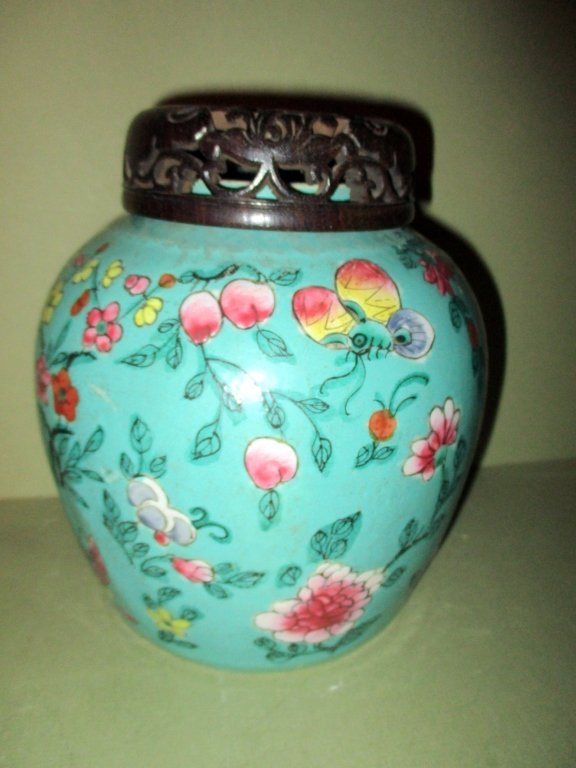 Chinese Covered Ginger Jar